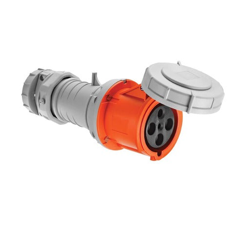 Arrow Hart Connector Pin&Sleeve 60A 125/250V 3P4W White  Orange