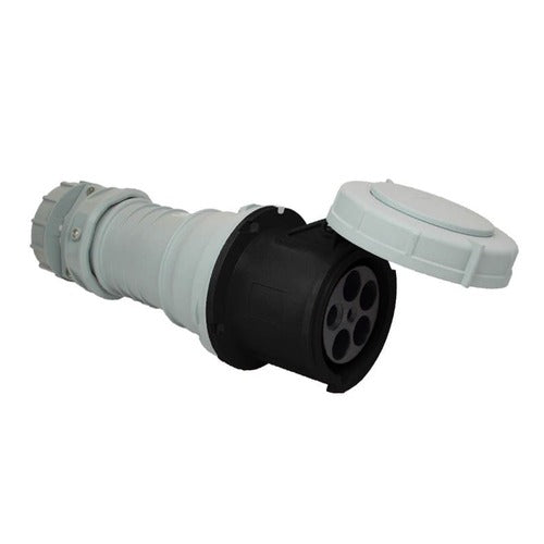 Arrow Hart Connector Pin&Slv 100A347/600V 3PH 4P5W White  Black