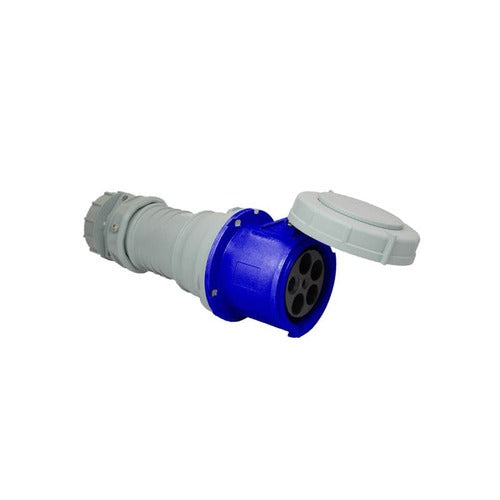 Arrow Hart Connector Pin&Slv 100A120/208V 3PH 4P5W White  Blue