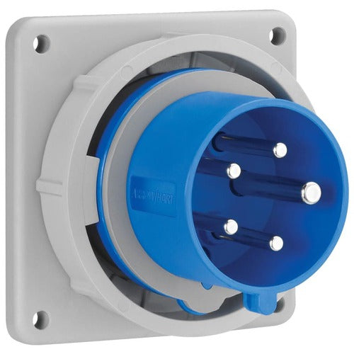Arrow Hart Inlet Pin&Slv 20A120/208V 3PH 4P5W White  Blue