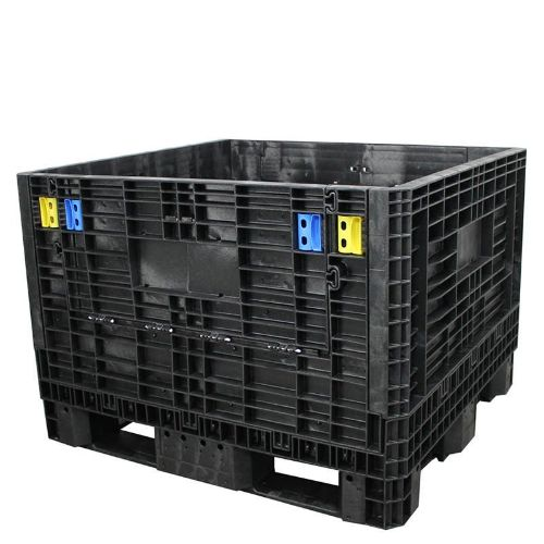 DuraGreen Collapsible Bulk Container Medium duty 45x48x34,1500lb-Black
