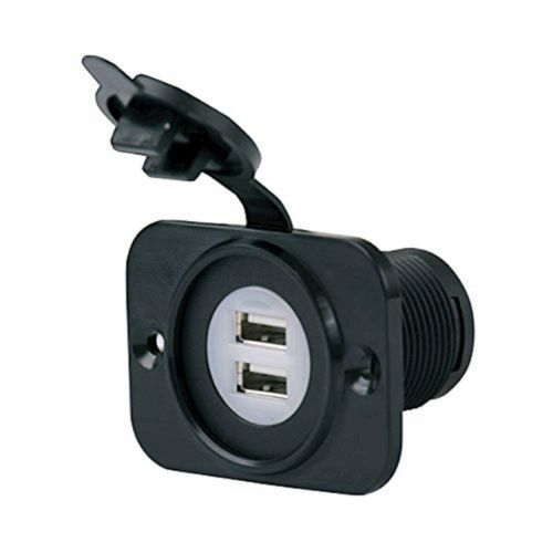 Marinco Power Products Dual USB Charger Receptacle  12-24V