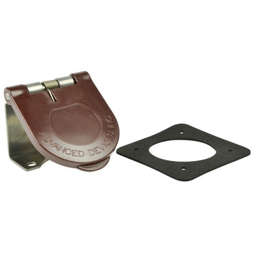 Marinco Power Products Snap Back Cam Cover Surface Mount-BN