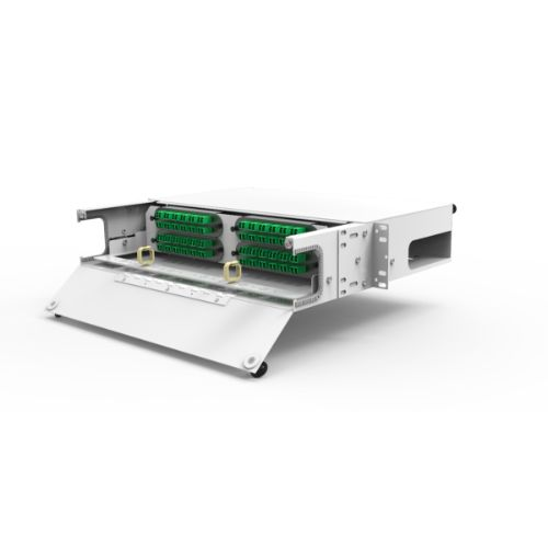 DMSI Rack Mount Omnia Enclosure, 2RU, 4 Panel Capacity OMNIA2C-RA