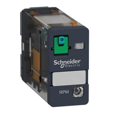 Schneider Electric RPM12BD Zelio RPM Power Plug-In Relay, 1 C/O, 24 V DC, 15 A, w/LED