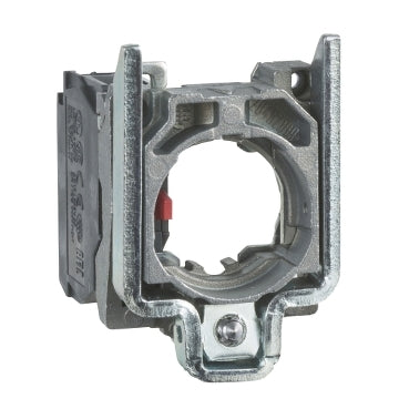 Schneider Electric ZB4BZ102 22mm XB4B Harmony Push Button Contact Block, , Single with body/fixing collar, 1 NC