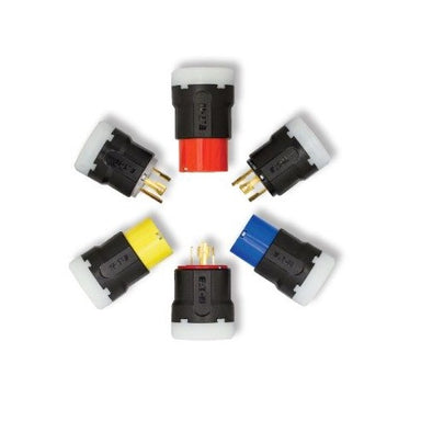 30 Amps Color Coded Locking Devices, 2 Pole 3 Wire