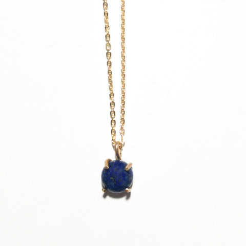 Lapis Drop Necklace