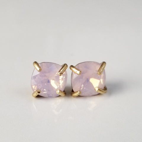 Rose Prong Set Studs