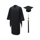 Master's Degree Cap & Gown Packages