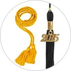 Graduation Accessories - Stoles, Honor Cords, Tassels, Medals
