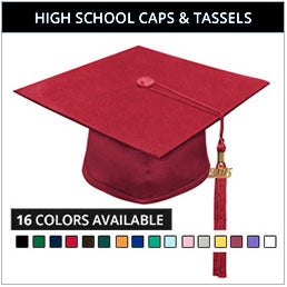 On-Sale High School Graduation Cap & Tassel Packages in Canada