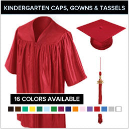 Preschool / Kindergarten Cap & Gown Packages in Canada