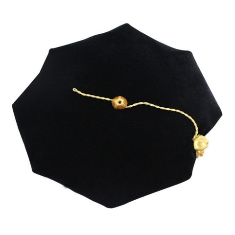4 Sided Doctoral Tam - Academic Faculty Regalia
