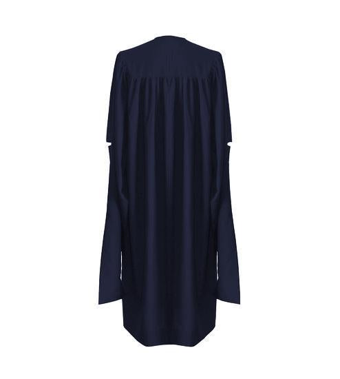 Classic Navy Blue Masters Graduation Gown - Graduation UK