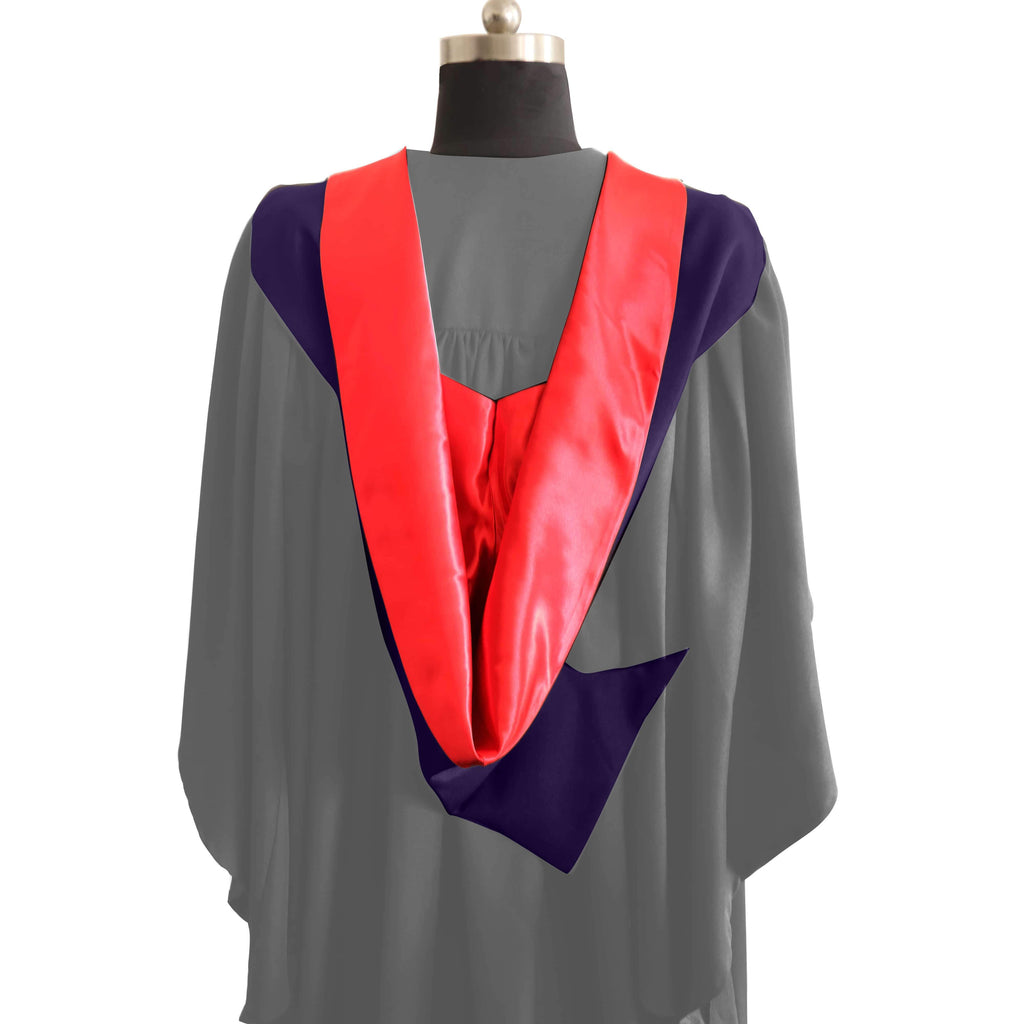 Simple Shape Burgon Academic Hood - Graduation UK