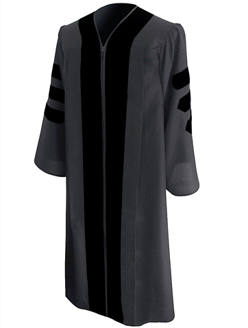 Classic Doctoral Graduation Gown - Academic Regalia