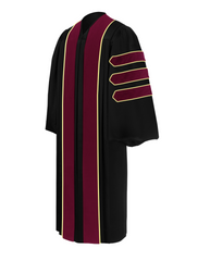 Doctor of Communication & Journalism Doctoral Gown - Academic Regalia - Graduation Cap and Gown