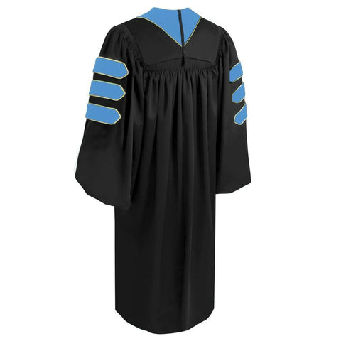 Doctor of Education Doctoral Gown - Academic Regalia - Graduation Cap and Gown