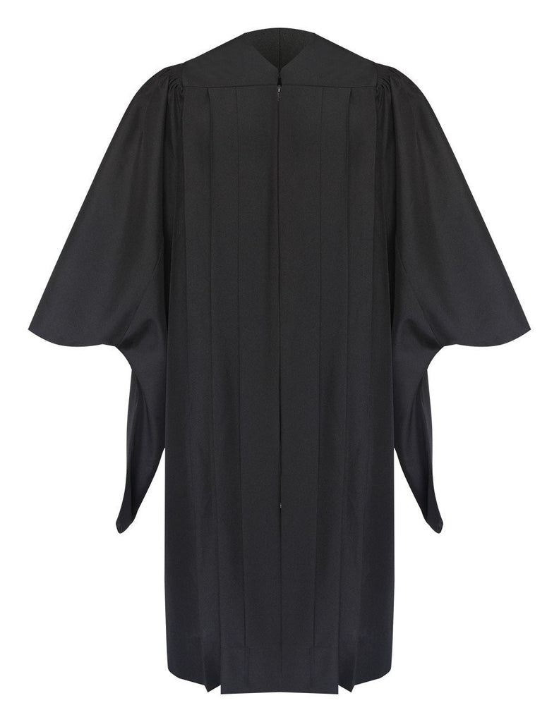 Deluxe Masters Graduation Gown - Academic Regalia - Graduation Cap and Gown