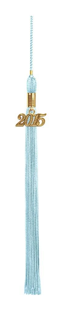 Light Blue Graduation Tassel - College & High School Tassels - Graduation Cap and Gown