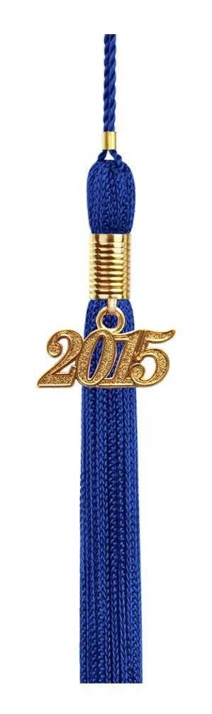 Royal Blue Graduation Tassel - College & High School Tassels - Graduation Cap and Gown
