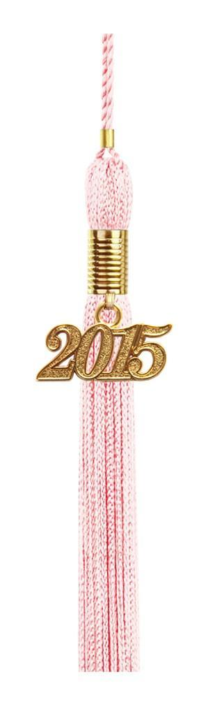 Pink Graduation Tassel - College & High School Tassels - Graduation Cap and Gown