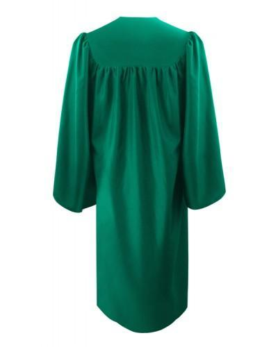 Eco-Friendly Emerald Green Bachelors Graduation Gown - College & University - Graduation Cap and Gown