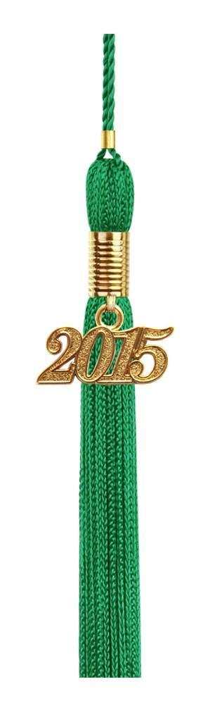 Eco-Friendly Emerald Green High School Graduation Cap & Gown - Graduation Cap and Gown
