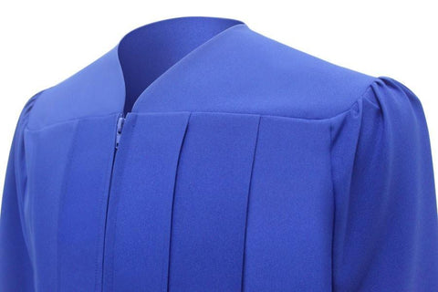 Matte Royal Blue Bachelors Cap & Gown - College & University - Graduation Cap and Gown