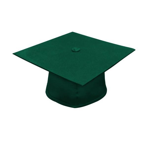 Matte Hunter High School Graduation Cap and Gown - Graduation Cap and Gown