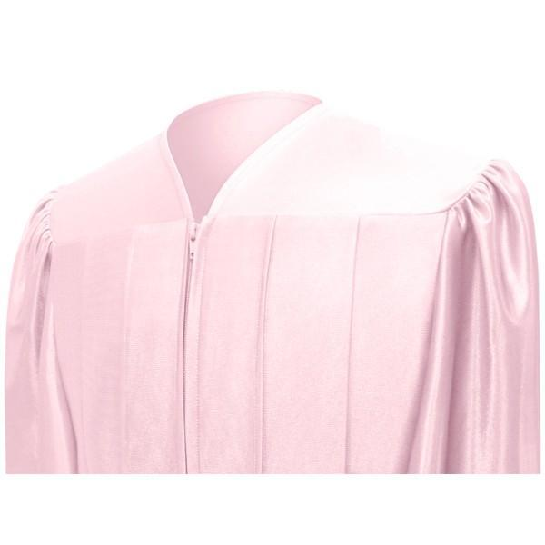Shiny Pink Bachelors Cap & Gown - College & University - Graduation Cap and Gown