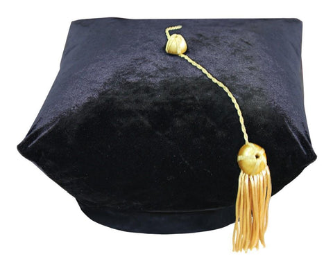 4 Sided Doctoral Tam - Academic Faculty Regalia - Graduation Cap and Gown