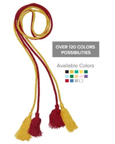 Double Graduation Honor Cords - Custom Honor Cords - Graduation Cap and Gown