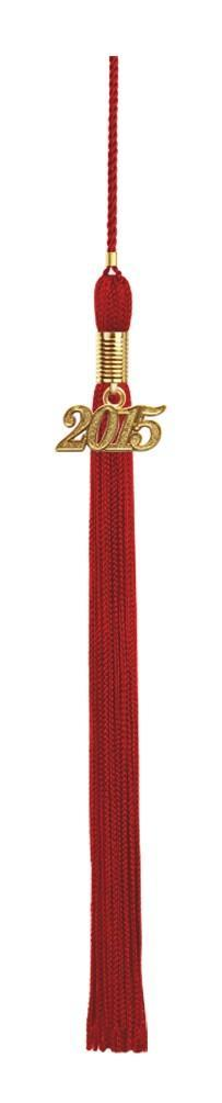Matte Red High School Cap & Tassel - Graduation Caps - Graduation Cap and Gown