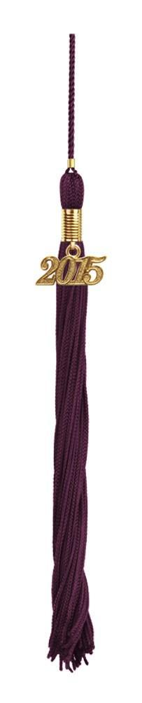 Shiny Maroon High School Cap & Tassel - Graduation Caps - Graduation Cap and Gown