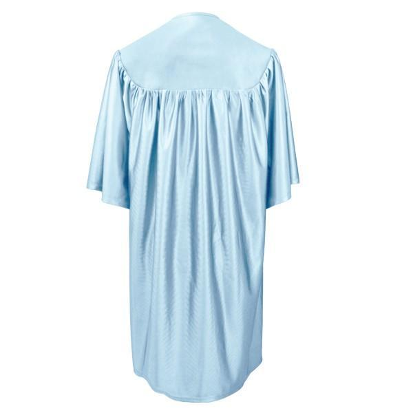 Child Light Blue Graduation Gown - Preschool & Kindergarten Gowns - Graduation Cap and Gown