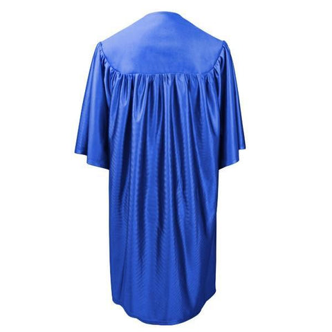 Child Royal Blue Graduation Gown - Preschool & Kindergarten Gowns - Graduation Cap and Gown