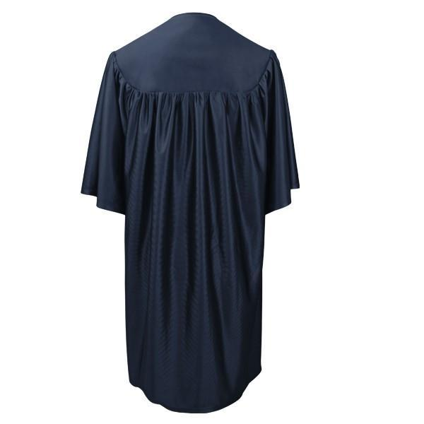 Child Navy Blue Graduation Gown - Preschool & Kindergarten Gowns - Graduation Cap and Gown