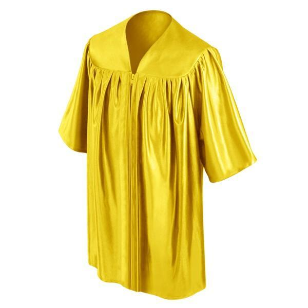 Child Gold Graduation Gown - Preschool & Kindergarten Gowns - Graduation Cap and Gown