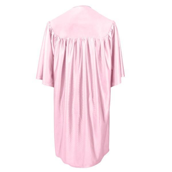 Child Pink Graduation Gown - Preschool & Kindergarten Gowns - Graduation Cap and Gown