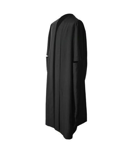 Classic Black Masters Graduation Gown - Graduation UK