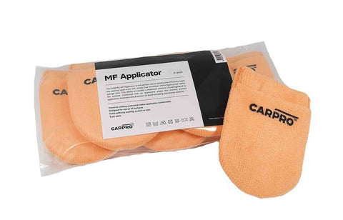 Microfibre applicateur CarPro pack de 5