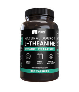 L-Theanine (365 Capsules, 355 Mg/Serving)