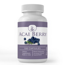 Load image into Gallery viewer, Acai Berry Supplements (100 Capsules, 560 mg)