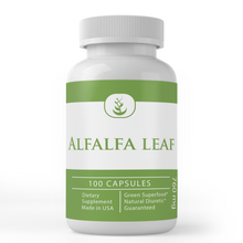 Load image into Gallery viewer, Alfalfa Leaf Capsules (760 mg Per Serving)