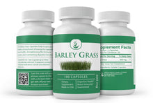 Load image into Gallery viewer, Barley Grass (100 Capsules 300 mg Servings)
