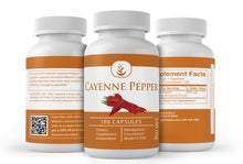 Load image into Gallery viewer, Cayenne Pepper Capsules