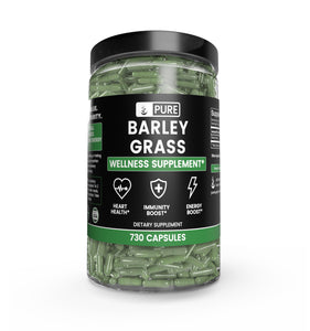 Barley Grass (730 Capsules 600 mg/Serving)