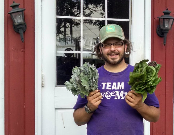 Bob Cat Main Street Farms Cortland NY with GreenTree Garden Supply Ithaca NY soil